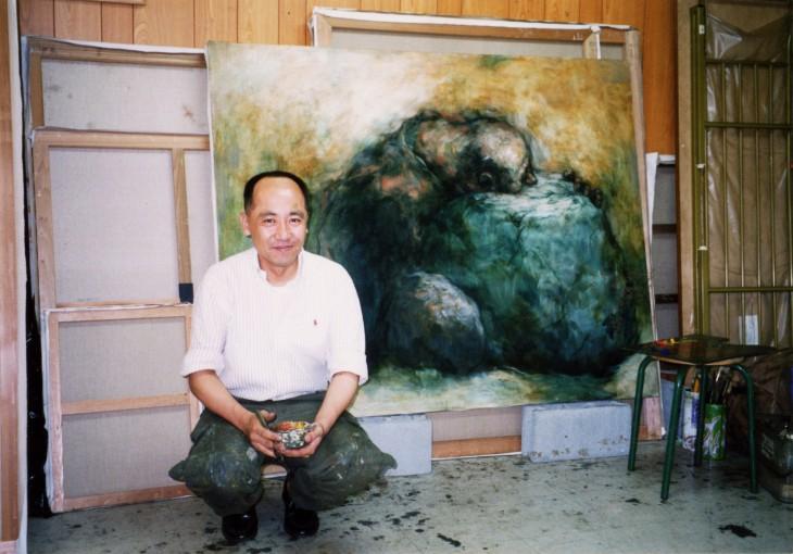 安田先生アートスクール受講生時代