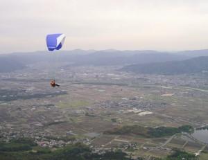 パラグライダー亀岡フライト