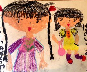 幼稚園の頃の絵
