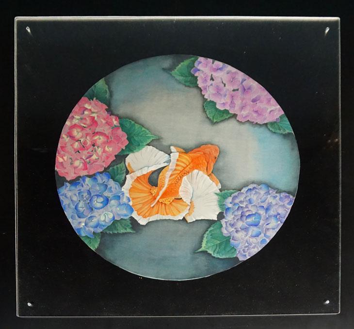 日本画 アクリル板